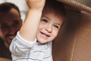Guide to moving home with children